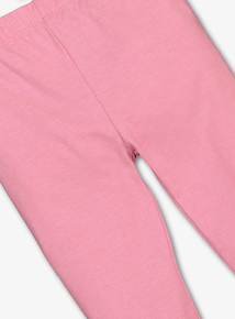 Pink Marl Leggings (9 Months - 5 Years)