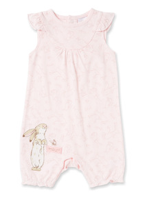 Pink 'Guess How Much I Love You' Romper (Newborn-24 months)