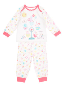 Girls Fun At The Seaside PJ Set (0 - 24 months)