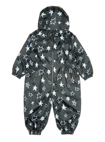 Black Star Puddlesuit (9 months - 6 years)