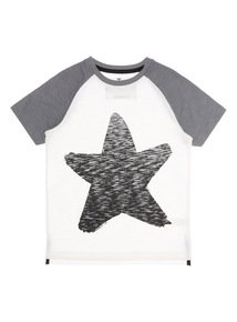 White Star Raglan Tee (9 months - 6 years)