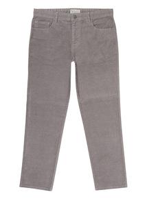 Silver Grey Corduroy Trouser