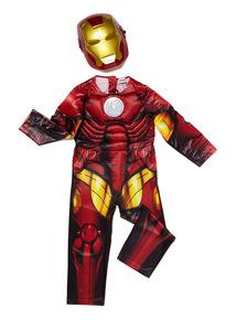 Red Disney Iron Man Costume (3 - 10 years)
