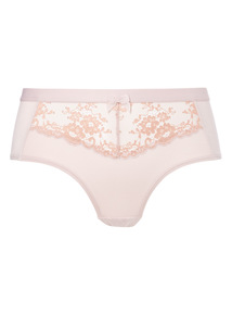 Two Tone Lace Short