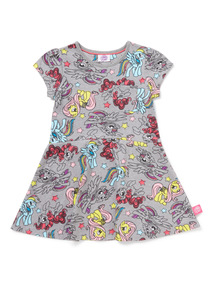 Multicoloured My Little Pony Print Skater Dress (9 months-6 years)
