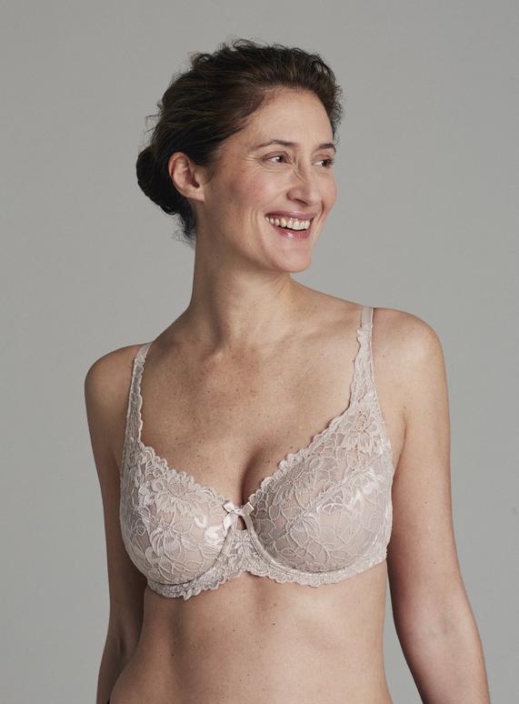 58207a96b2 Womens Nude Comfort Lace Bra