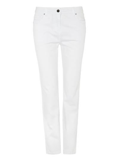 Womens White Straight Leg Jeans Tu Clothing