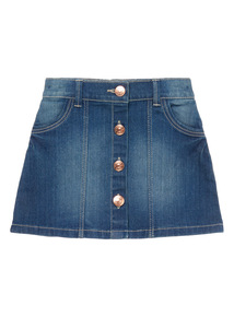 Girls Blue Denim Skirt (3-12 years)