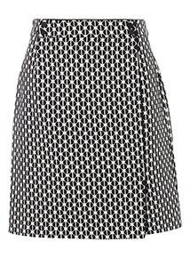 Geographic Mini Skirt