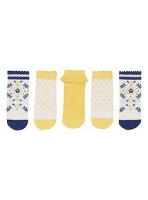 Sardinia Socks 5 Pack (1 - 24 months)