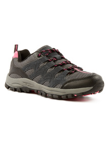 Black Sole Comfort Hiker Trainers