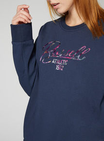 Russell Athletic Floral Logo Sweat