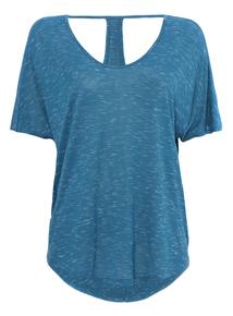 Blue T-bar T-Shirt