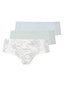 3 Pack Lace Insert Shorts
