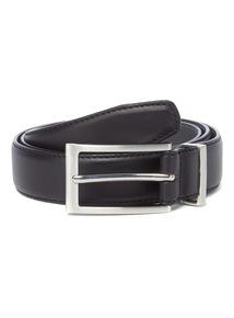 Black PU Feather Edge Belt