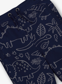 Navy Dinosaur Joggers (9 Months - 6 Years)