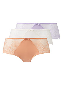 3 Pack Lace Shorts