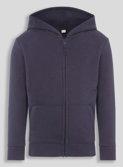 Navy Fleece Hoodie (3-16 Years)