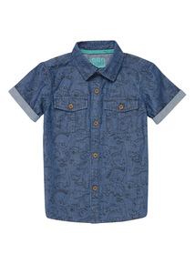 Blue Dino Shirt (9 months - 6 years)