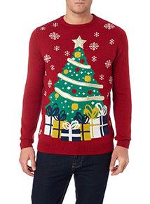 Sainsburys Novelty Lighting : Mens Jumpers & Cardigans Mens Knitwear Tu Clothing Tu clothing