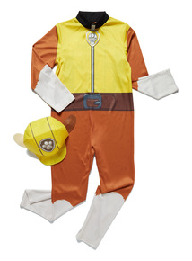 Multicoloured Paw Patrol Rubble Costume (1 - 8 years)