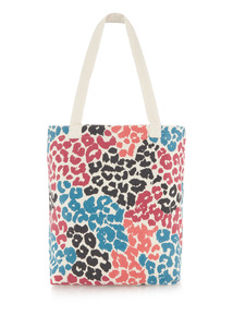 Animal Print Cavas Bag