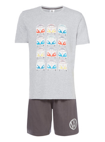 Grey Camper Van Pyjama Set