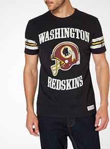 Black NFL Redskins Tee
