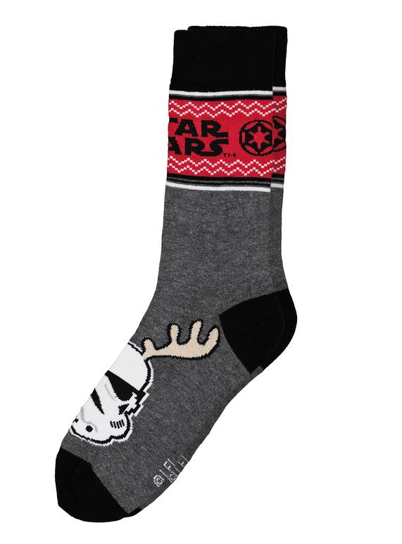c6861cecae0 Menswear Star Wars Stormtrooper Christmas Socks