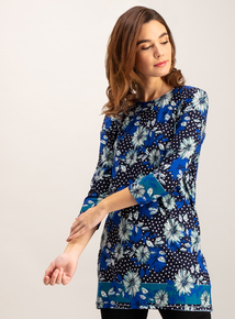 Multicoloured Floral Spot Tunic