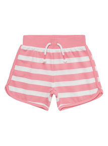 Pink Striped Shorts (9 months - 6 years)