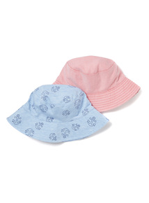 Blue and Red Multipack Anchor Hats (0-24 months)