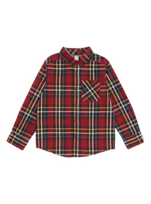 Red Checked Shirt (3-14 years)