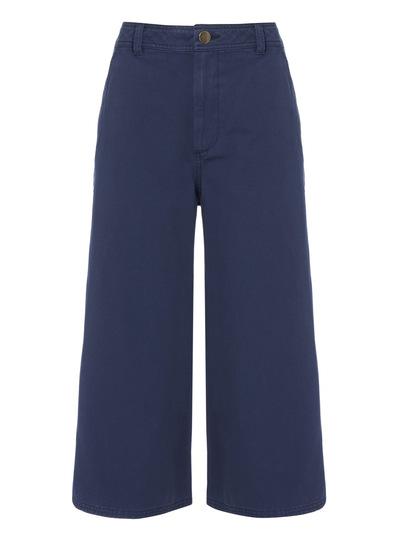 Blue Culotte Trousers