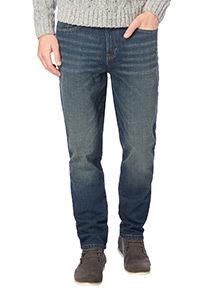 Dirty Wash Slim Stretch Denim Jeans