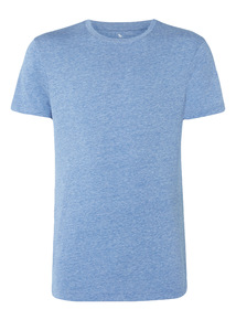 Pale Blue Crew Neck T-shirt