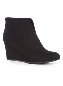 French Cut Wedge Boot