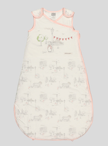 Peter Rabbit Pink Trim Baby Sleep Bag (0-24 months)