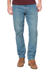 Light Wash Slim Stretch Denim Jeans