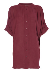 Purple Oversized Shirt