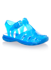 Boys Blue Jelly Shoes