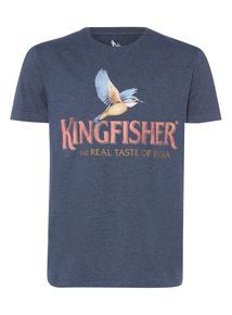 Blue Kingfisher Tee