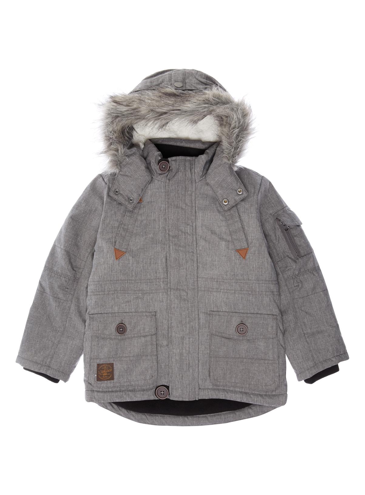 All Boy's Clothing Boys Grey Parka Jacket (3-12 years) | Tu clothing