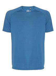 Admiral Blue Airtex T-Shirt