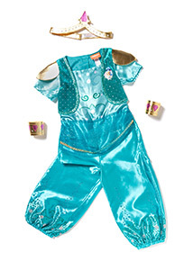 Green Shine Costume (2-6 years)