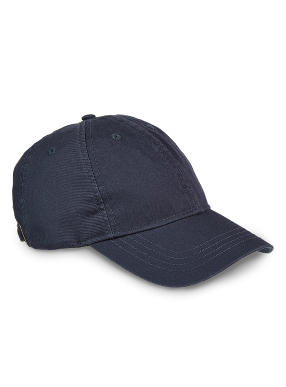 Navy Washed Cap