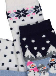 Christmas Thermal Socks 2 Pack