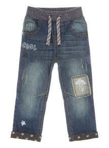 Blue Applique Jean (9 months-6 years)