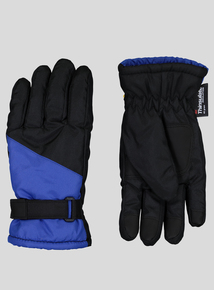 3M Thinsulate Black And Blue Snow Gloves (1-12 years)