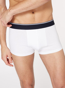 Online Exclusive 3 Pack White Hipster Briefs